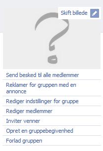 facebook gruppe indstillinger
